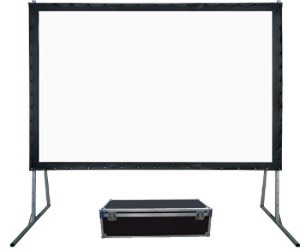 Fast-Folding-Projection-Screen